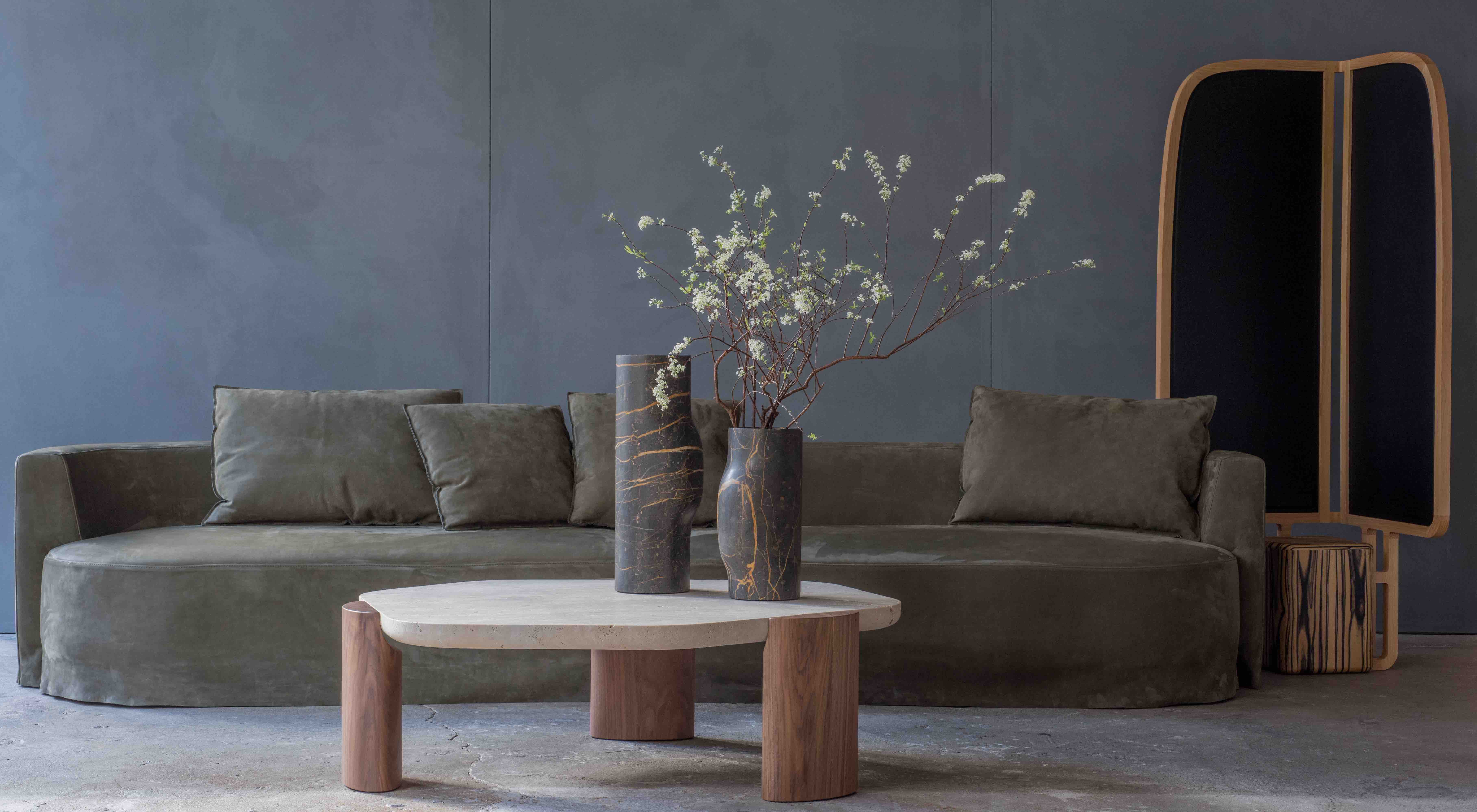LOB-COFFEE-TABLE-TRAVERTINE-WALNUT-CHRISTOPHE-DELCOURT-COLLECTION-PARTICULIERE